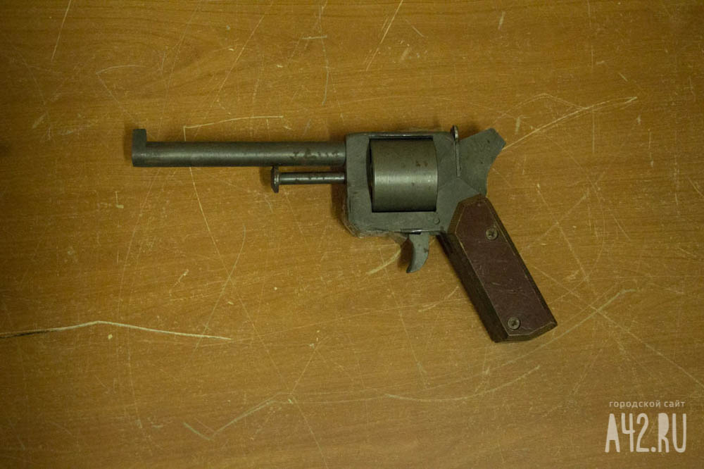 Homemade revolvers – part 1   Impro Guns
