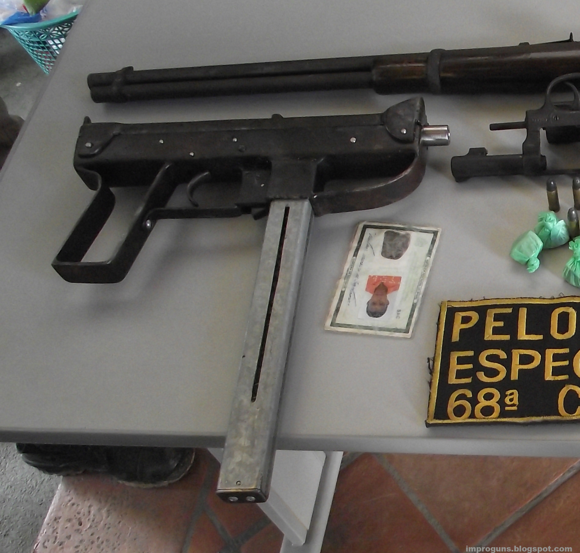 Homemade Submachine Guns Part 4 Brazil 2 Impro Guns