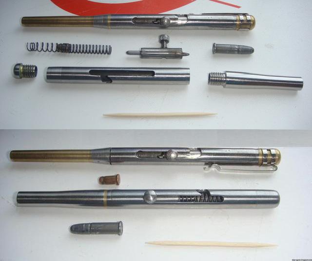 Homebuilt Pen guns | Impro Guns