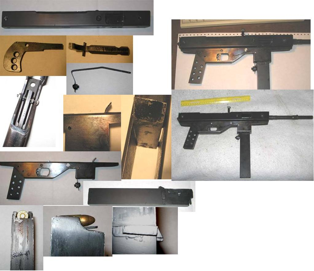 P.A Luty Expedient Submachine Gun Examples