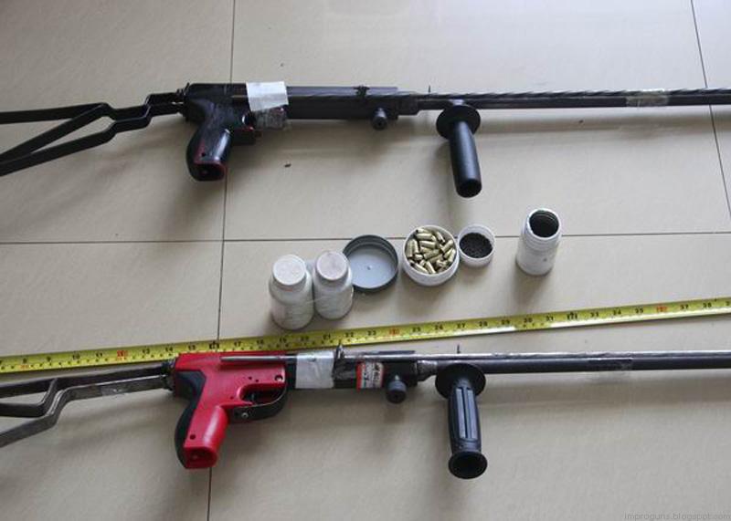 Nail gun to firearm conversions – China | Impro Guns