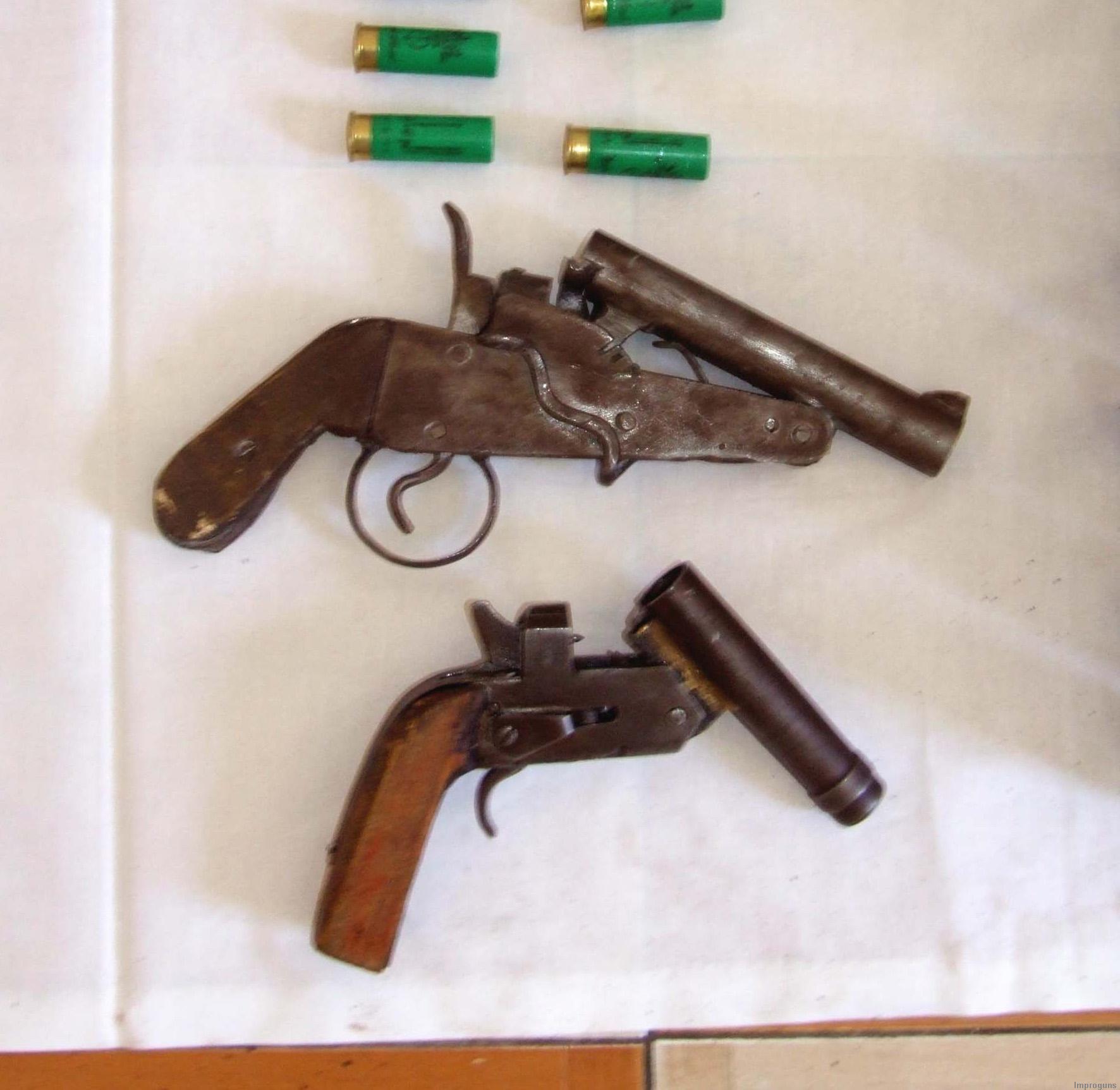 homemade pistols and shotguns – egypt | impro guns