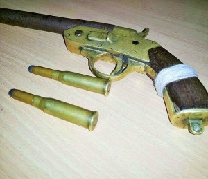 desi gun with bullet