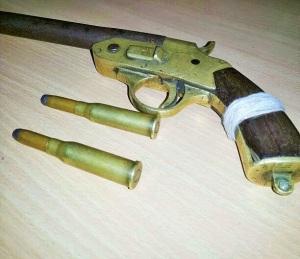 desi gun with bullet