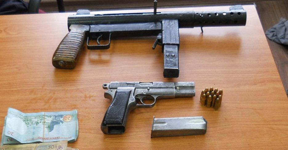 Homemade 9mm submachine gun seized (Hura, Israel) | Impro Guns
