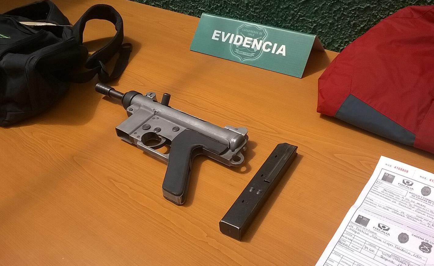Homemade 9mm gun