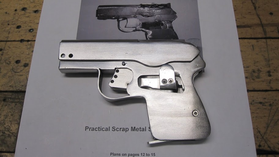 Building The DIY Sheet Metal Self-loading Pistol | Impro Guns