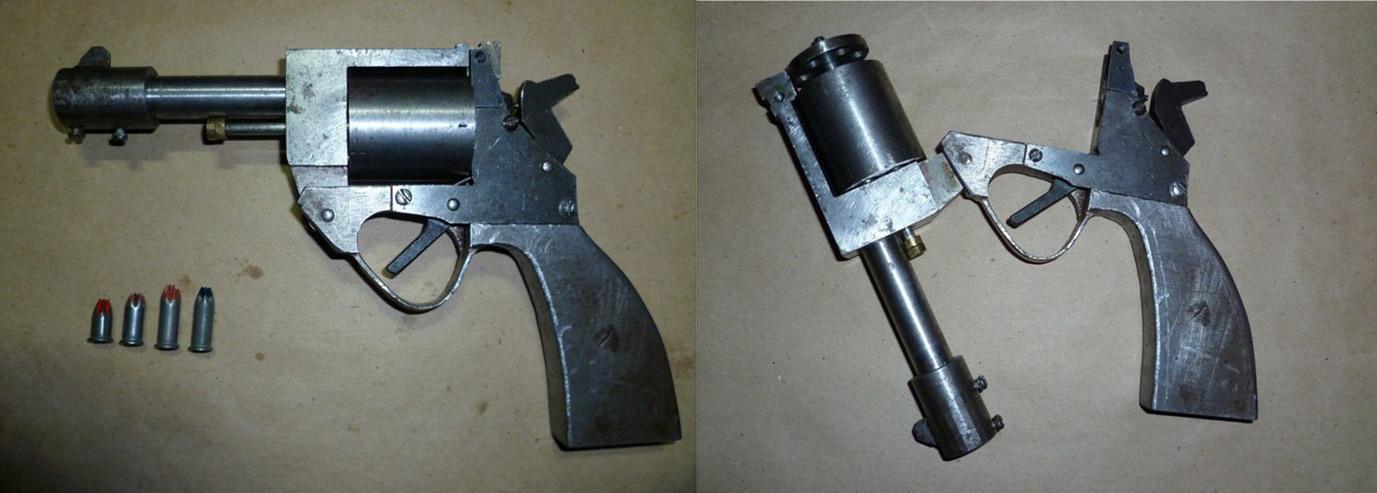 Homemade 410 Pistol