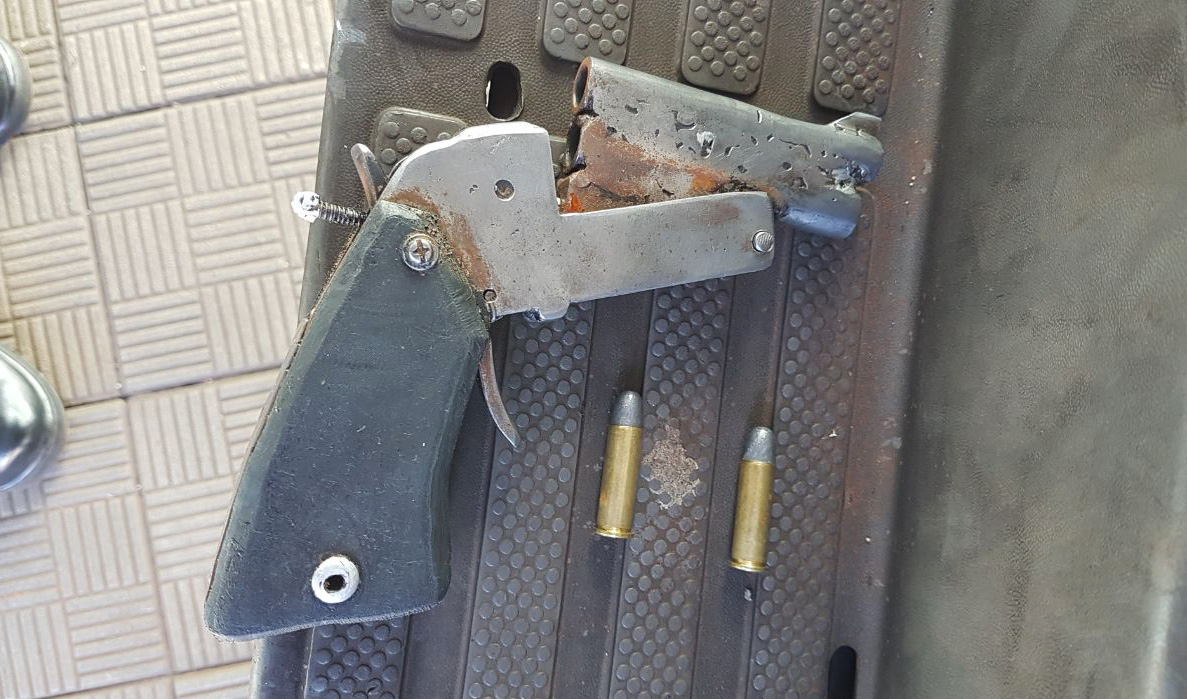 double barrel derringer   Impro Guns