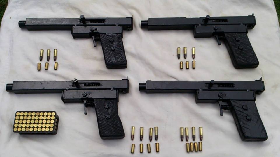 Two types of improvised pistol design | Impro Guns on funny weapons designs, improvised weapons designs, indian weapons designs, homemade weapons furniture, homemade weapons systems, anime weapons designs,