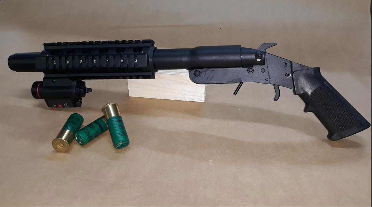 Homemade Shotgun Impro Guns