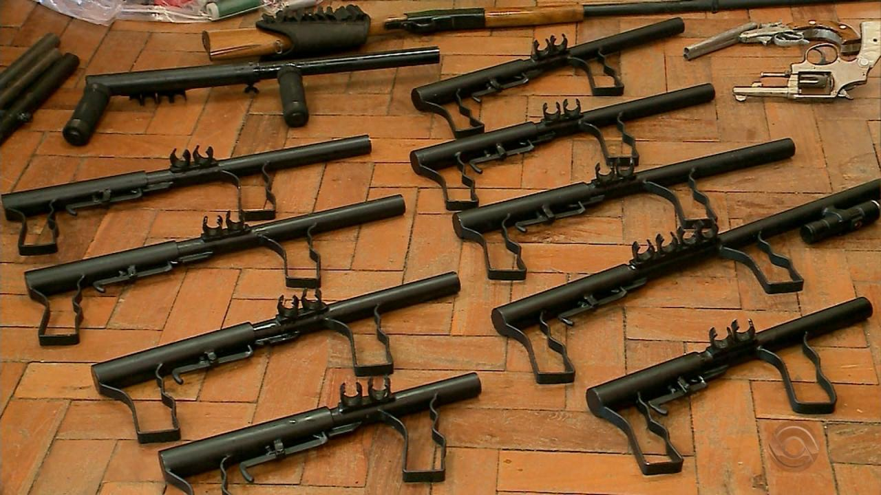Homemade shotguns seized (Brazil) | Impro Guns