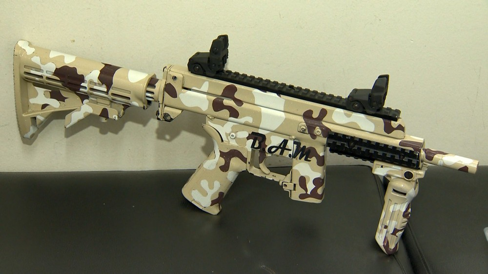 homemade submachine gun   Impro Guns